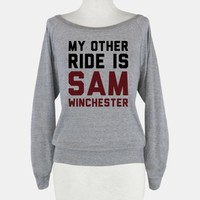 My Other Ride Is Sam Winchester