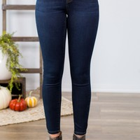 Grace & Lace Designer Denim-  Dark Wash