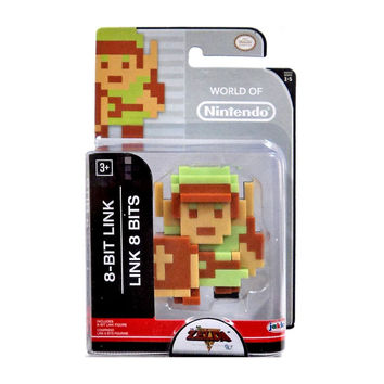 8-Bit Link Legend of Zelda World of Nintendo Action Figure