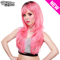RockStar Wigs®  Uptown Girl™ Collection - Bubble Gum Pink -00134