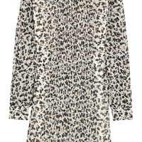 See by Chloé - Forget Me Knot printed georgette mini dress