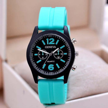 Women Man Watch Fit for everyone.Many colors choose.HOT SALES = 4487068100