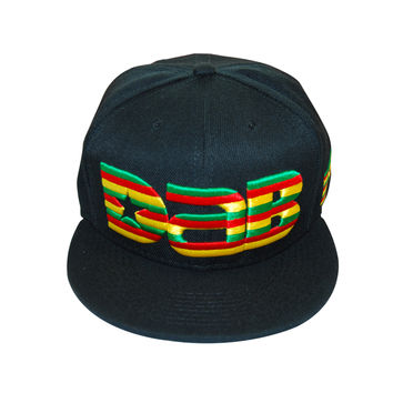 DAB Dab Wizard Hawaii Logo Cap Snapback | Hawaii Flag Stripes Design Shatter Price Save SB-027