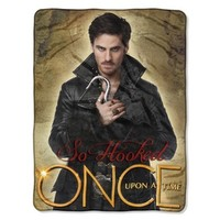 Once Upon a Time Blanket - Get Hooked: The Northwest Company: 087918278653:
