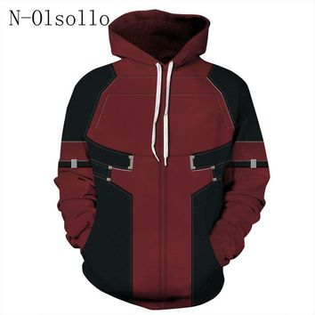Deadpool Dead pool Taco N-olsollo Harajuku  3D Printed Women Hoodies Long Sleeve Broadcloth Casual Ladies Sweatshirts S-XXXL Hoody Pullovers AT_70_6