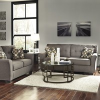 99101 - The Tibbee Living Room Set - Slate