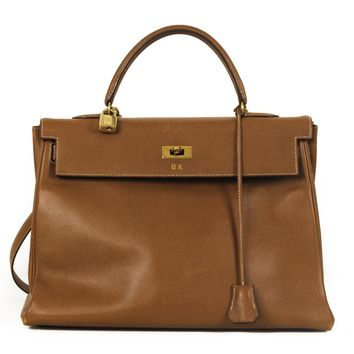 Hermes Brown 35cm Kelly Bag