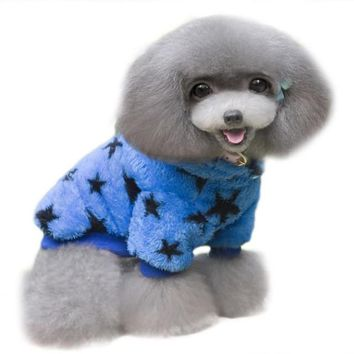 Autumn And Winter Pet Dog Sweatshirts BU vest for dogs winter clothes for dogs  products for animals