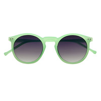 Colorful Retro Vintage Fashion Celebrity Keyhole Round Sunglasses R2590