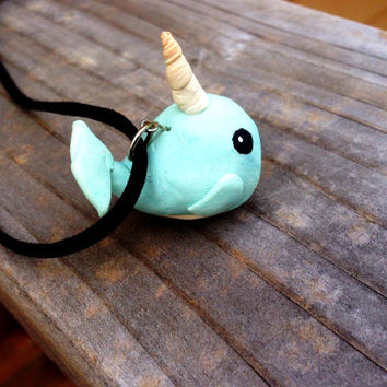 Cute Narwhal Necklace (Free Shipping To USA)