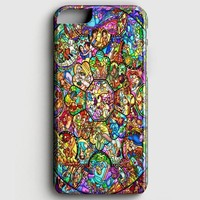All Disney Heroes Stained Glass Iphone Case iPhone 7 Case