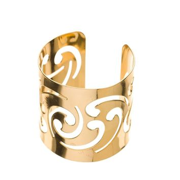 Metal Napkin Rings - Swirl (Gold)