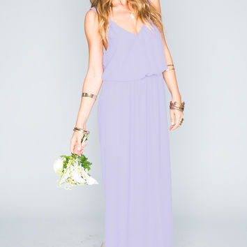Show Me Your mumu Kendall Maxi Dress ~ Lilac