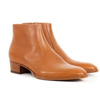 Saint Laurent Cognac Boots