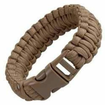 JG 9 Survival Bracelet Coyote