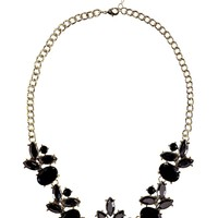 Ivy Statement Floral Collar Necklace