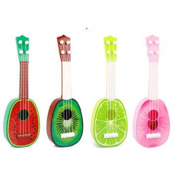 4 String Musical Ukulele Toy Fruit Guitar
