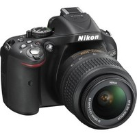 Nikon - D5200 24.1-Megapixel DSLR Camera with 18-55mm VR Lens - Black
