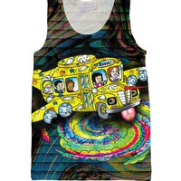 Magic School Bus Acid Trip Tank Top *Ready to Ship*