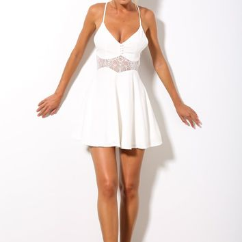 HelloMolly | Candyfloss Dress White