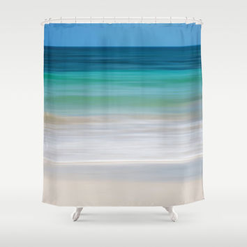 SEA ESCAPE Shower Curtain by Catspaws | Society6