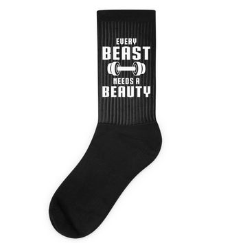 Every Beast Needs a Beauty Socks
