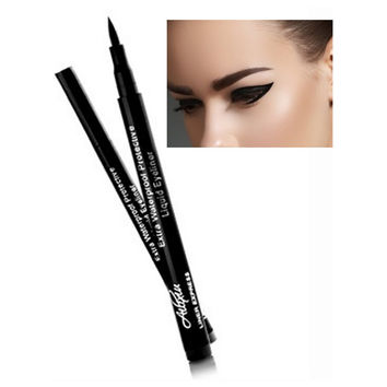Super Black Waterproof Liquid Eyeliner Pencil Eye Liner Pen Lady Cosmetics Make Up Eye Marker Beauty Essentials Eyeliner Contour