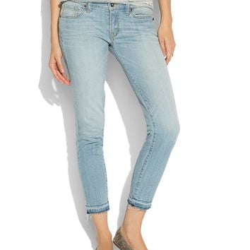 Lucky Brand Charlie Pencil Capri Womens Straight Jeans - Quincie
