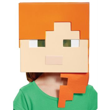 Minecraft Alex Vacuform Mask