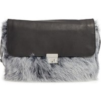 UGG® Vivienne Genuine Shearling Convertible Clutch | Nordstrom