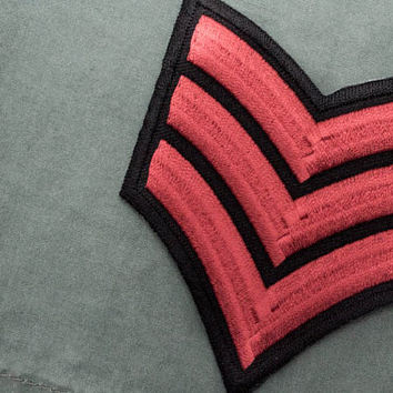 Tattoo Patch / Red Army Badge / Iron-on Badge / Embroidery / Army Military Patches