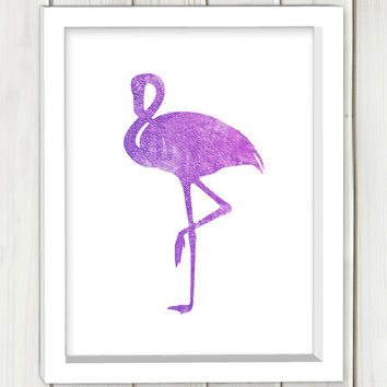 Flamingo printable art,DIGITAL FILE, wall art, home decor,art print,instant download