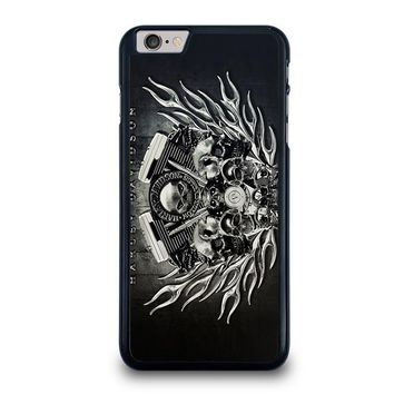 HARLEY DAVIDSON SKULL ENGINE iPhone 6 / 6S Plus Case Cover