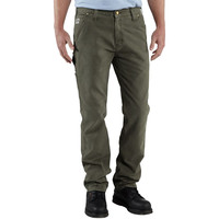 Carhartt 1889 Relaxed Fit Straight Leg Work Dungaree Pant - Men's Moss,