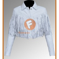 Ferris Bueller's Day Off Sloane Peterson White Jacket Costume