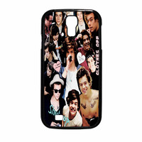 Harry Styles One Direction Collage Clothes Off Samsung Galaxy S4 Case