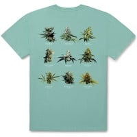 Smokers Lounge Strains Tee