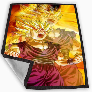 Best dragon blanket products on wanelo for Dragon ball z bedroom