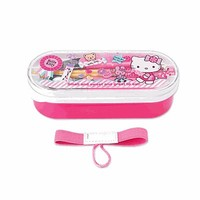 Hello Kitty Bento Box and Utencil Set CANDY Fork Spoon Chopsticks