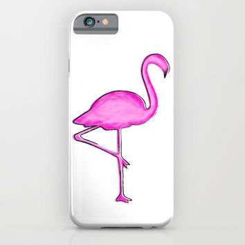 Flamingo iPhone & iPod Case by Whitney Werner