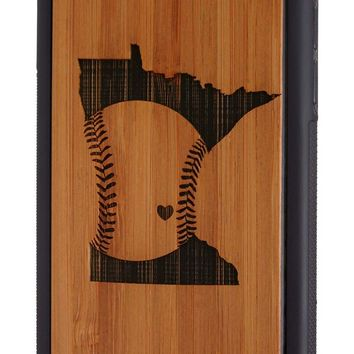 Baseball in Minnesota - Case for iPhone 6/6s & 6/6s Plus