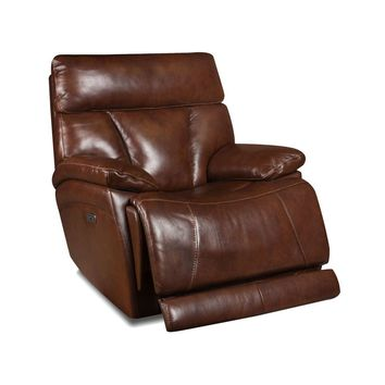 Athens Brown Electric Power Recliner