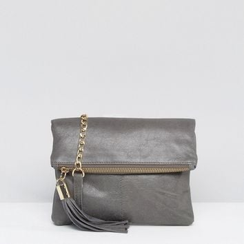 Oasis Leather Ora Xbody at asos.com