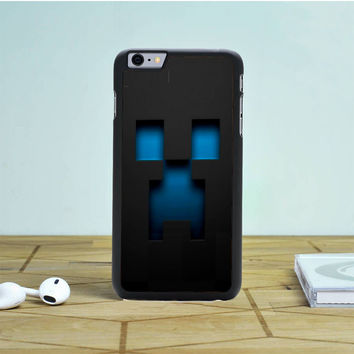 Minecraft Blue Creeper iPhone 6S Plus Case Dewantary