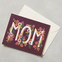 Dear Mom Card by Rifle Paper Co. Plum One Size House & Home