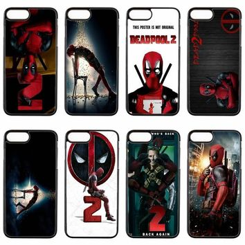 Deadpool Dead pool Taco Marvel  2 cover case For HTC One M7 M8 M9 Plus M10 A9 Desire 816 820 826 830 626 one X phone case AT_70_6