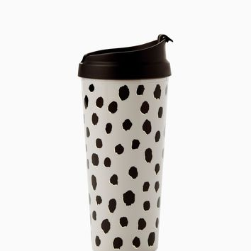 kate spade new york 16 oz Thermal Mug - Flamingo Dot