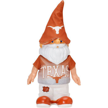 "TEXAS LONGHORNS REAL SHIRT GNOME 12"" GRAPHICS ON SHIRT AND HAT"
