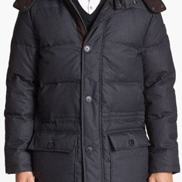 Men's Vince Camuto 680-Down Fill Quilted Hooded Anorak