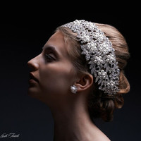 Selene Jewelled Bridal Headpiece
